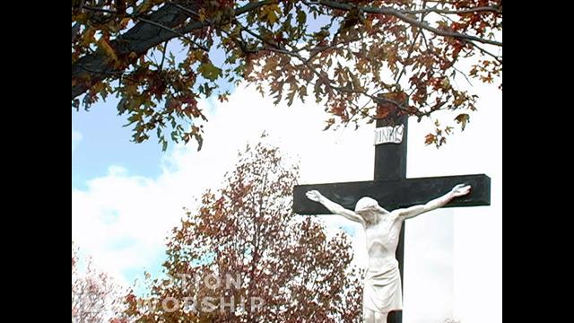 Fall Crucifix