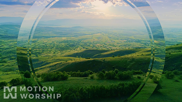 Epic Spring Aerial Rolling Hills