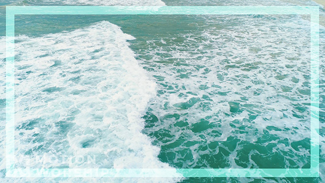 Epic Summer Aerial Rolling Waves