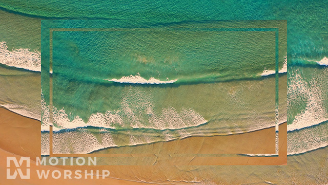 Epic Summer Aerial Top View Waves