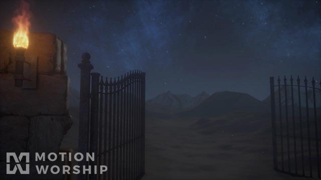 Desert Prayer Gate Closeup