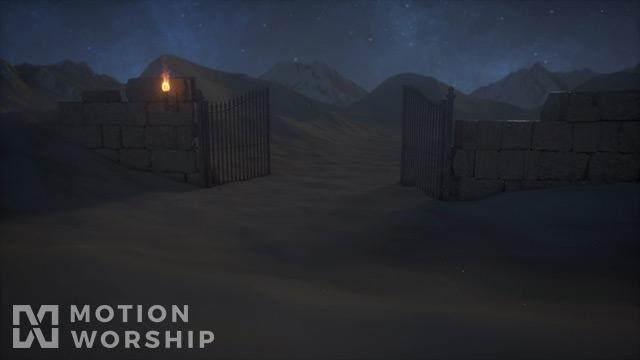 Desert Prayer Gate