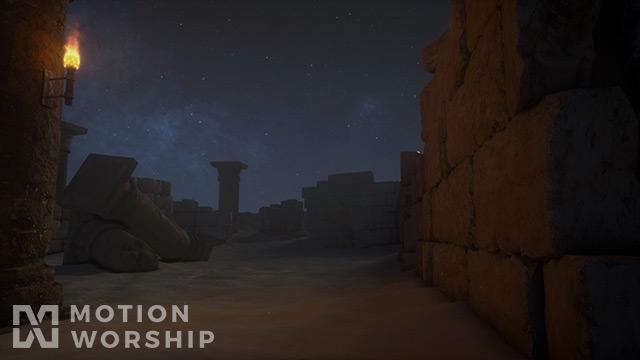 Desert Prayer Ruins Closeup