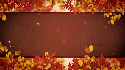 Autumn Branches Particles