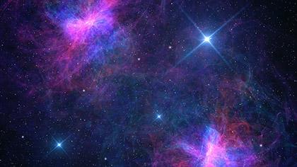 Awesome Galaxy Twin Nebulae
