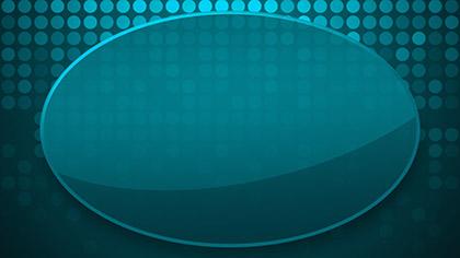 Blue Circles Grid Glass