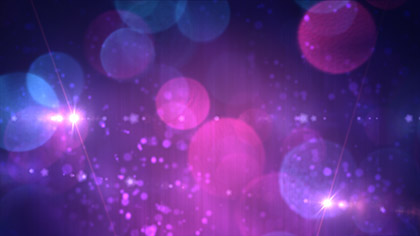 Bokeh Avalanche Purple Flares
