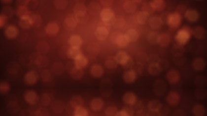 Bokeh Red Reflections