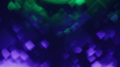 Bokeh Shapes Purple Green Diamonds