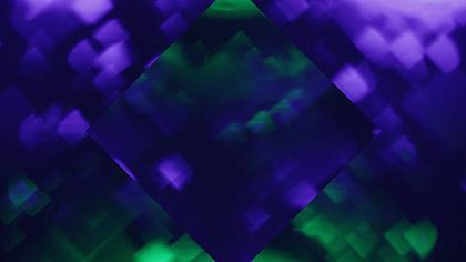 Bokeh Shapes Purple Green Diamonds Reflected