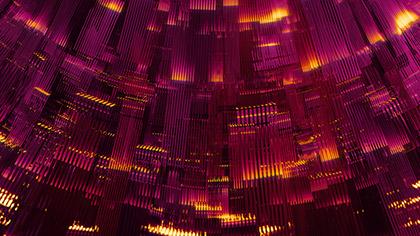 Circuit Pink Gold Rings