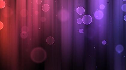 Color Bubbles Purple Red