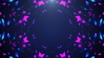 Crystal Patterns Pink Blue Fast