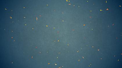 Digital Autumn Leaves Blue