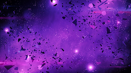 Galaxy Glass Purple Storm