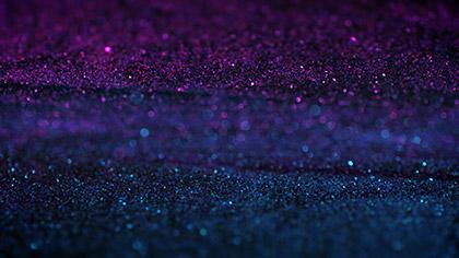 Gem Dust Purple Teal