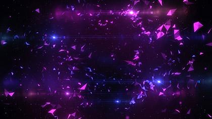 Geodesic Purple Pink Slow