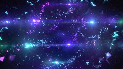 Geodesic Purple Teal