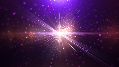 Kaleidoscopic Particles Hyper