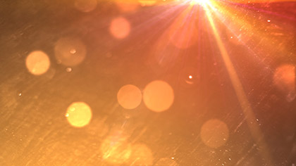 Lens Particles Grunge Orange