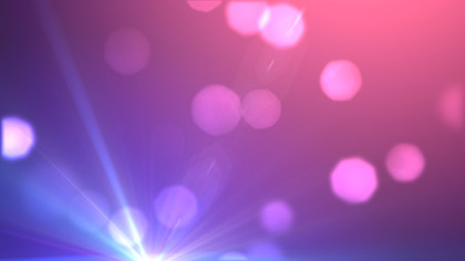 Lens Particles Pink
