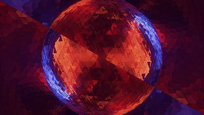 Mirror Ball Sphere Chrome