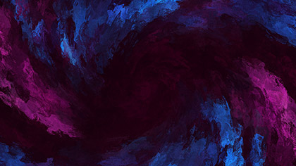 Paint Swirl Dark Pink Blue