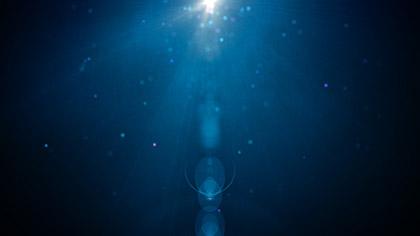 Particle Glow Blue