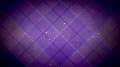 Plaid Patterns Dark Purple