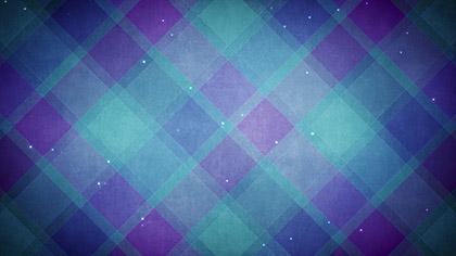 Plaid Patterns Winter Blue