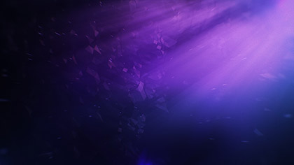 Polygon Fog Rays Purple