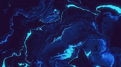 Sand Flow Electric Blue