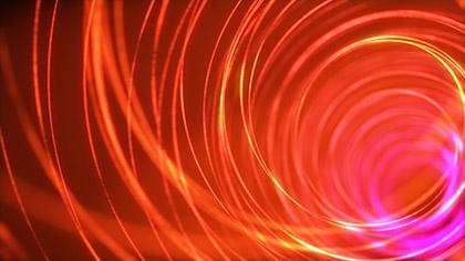Spiral Orange Bright