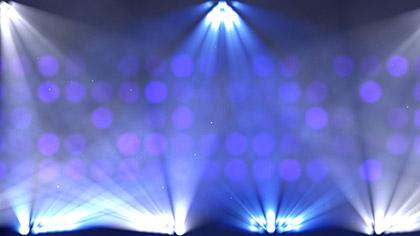 Stage Lights Color Change Flashing