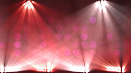 Stage Lights Color Change Scrolling