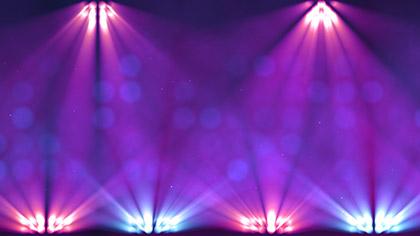 Stage Lights Purple Slow