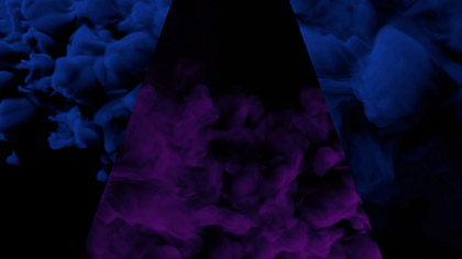 Vapor Purple Blue Triangle
