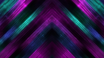 Vivid Fibers Teal Purple Falls