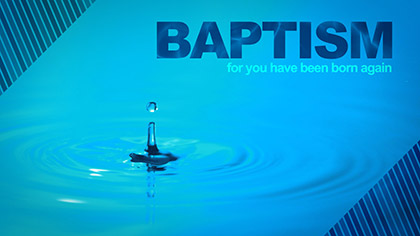Baptism Droplet
