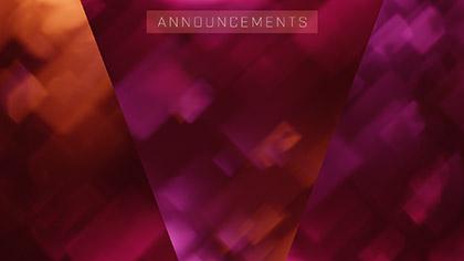 Bokeh Shapes Announcements