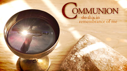 Communion Reflection Text