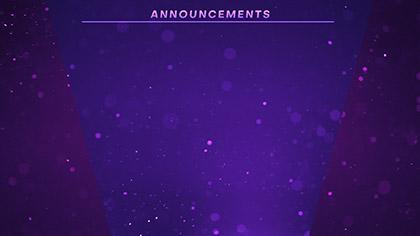 Dust Storm Announcements