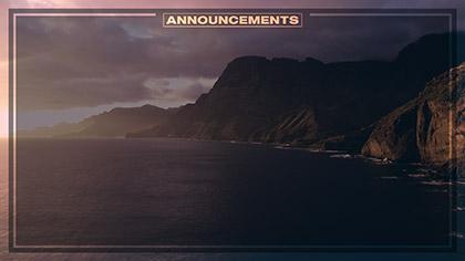 Epic Summer Aerial Announcements