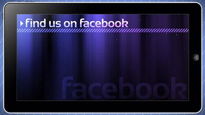 Facebook Tablet Promo