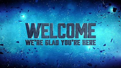 Galaxy Glass Welcome