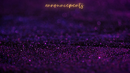 Gem Dust Announcements