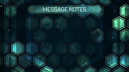 Hexa Fog Message Notes