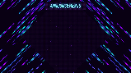 LED Wall Announcements