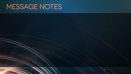 Light Streaks Message Notes