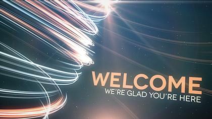 Light Streaks Welcome